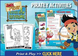 pirate easter activities jake neverland pirates