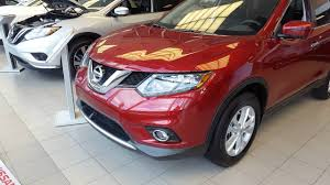 red nissan rogue 2016 nissan rogue sv technology package cayenne red youtube
