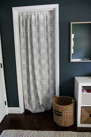 Curtains As Closet Doors Wonderful Curtains Instead Of Closet Doors Designs With Best 25