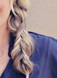 easy hairstyles with box fishtales braids first is 3 fishtails braided together second is a five
