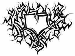 abc graffiti alphabet sketch graffiti tribal