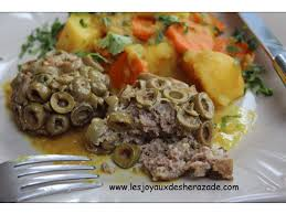 recette de cuisine alg ienne traditionnelle cuisine algérienne viande hachée aux olives