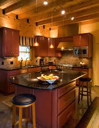 black kitchen cabinets in log cabin pin by lucabaugh buckwalter on log cabin kitchen ideas