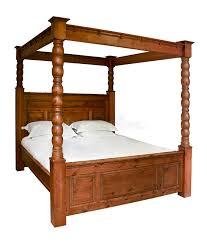 letto a baldacchino antico letto a baldacchino tradizionale immagine stock immagine di