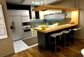cuisine ouverte avec bar cuisine américaine moderne avec bar en photo