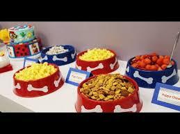 70 snacks cupcakes fiesta la patrulla canina paw
