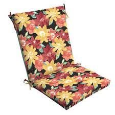 look chair cushion bright floral