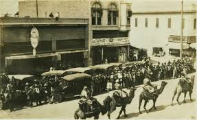 Barn Theater Porterville Circus Parade In Porterville Ca March 1917 This Photograph