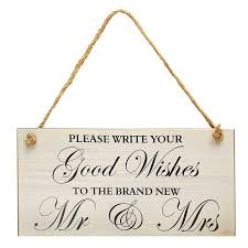 wedding wishes board wooden wishes wedding sign board marriage plaque photo props