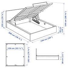 ikea kitchen cabinet storage bed malm storage bed black brown ikea
