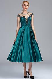 tea length formal prom dress short graduation dress edressit