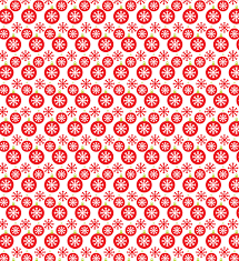 christmas patterns christmas bell and snowflake free seamless pattern vector file