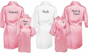 and bridesmaid robes satin wedding robes personalize advantagebridal
