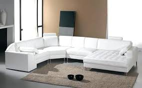 Sectional White Leather Sofa Curved Sectional Leather Sofa Genuine And Leather Corner Sectional