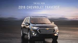chevrolet traverse 2018 exterior and interior youtube