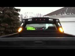 headache rack with light bar h h property maintenance custom headache rack youtube