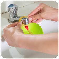 kitchen faucet extender aliexpress com buy leaves faucet child baby extender kitchen