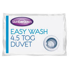 4 Tog Double Duvet Buy Slumberdown Easy Wash Double Duvet 4 5 Tog From Our Double