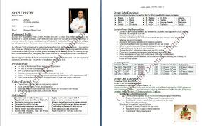 Sample Resume For Prep Cook by Chef Resume Template 10 Chef Sample Uxhandy Com