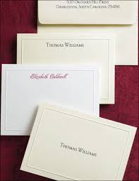 personalized stationary stationery embossed border raised print cards