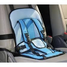 coussin pour siege auto bebe siège de sécurité voiture coussin portable coussin bleu harnais