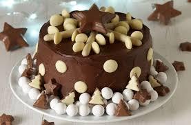 40 Christmas Cake Ideas Frances Quinn U0027s Chocolate Snowflake Cake