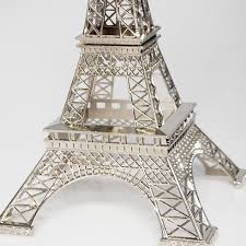 Paris Centerpieces Silver Eiffel Tower Centerpiece Paris Wedding Favors Wedding