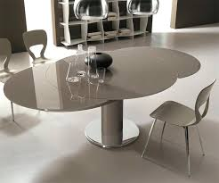 table ronde cuisine design table de cuisine ronde en verre exceptionnel table bar cuisine
