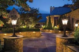 How To Install Landscape Lighting Transformer Installing Landscape Lights High Voltage Landscape Lighting Large
