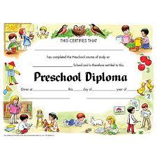 preschool certificates publishing va206cl preschool certificate schoolsin