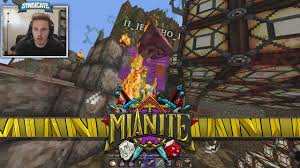 captainsparklez house in mianite minecraft mianite destroying team mianite 25 youtube