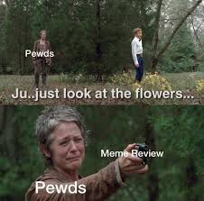 Look At The Flowers Meme - just accept it felix pewdiepiesubmissions