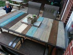 Homemade Patio Table by Replacement Top For Patio Table After Glass Top Shattered