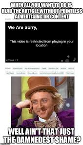 Youtube Video Meme - until i want to watch a youtube video and get the same message imgflip