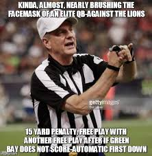 Football Meme - personal foul my a imgflip