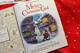 mickey s carol a golden book