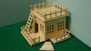 make house how to make house using ice cream stick popsicle stick house