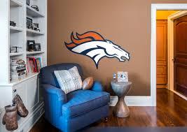 Denver Broncos Logo Wall Decal
