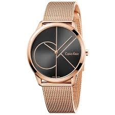 mesh bracelet watches images Calvin klein k3m21621 men 40mm minimal rose gold plated mesh jpg