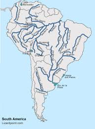 united states map with rivers and mountain ranges test your geography knowledge south america rivers and lakes