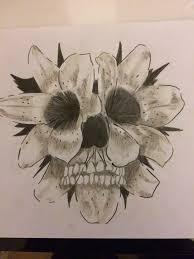 best 25 flower skull tattoos ideas on pinterest pretty skull