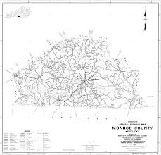 Monroe Wisconsin Map by State And County Maps Of Kentucky