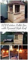 Outdoor Bars Best 20 Outdoor Pallet Bar Ideas On Pinterest Outdoor Pallet