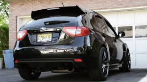 subaru hatchback wrx subaru impreza wrx sti hatchback exhaust sound youtube