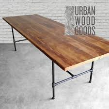 Diy Desk Pipe by Dining Tables Industrial Dining Table Diy Industrial Furniture