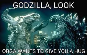 Godzilla Meme - godzilla want a hug by japanesegodzilla1954 on deviantart