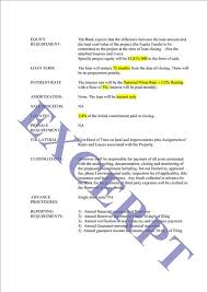 Sle Letter Of Intent For Salary Loan loan letter of intent realcreforms