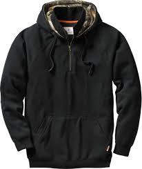 mens big camp 1 4 zip hoodie legendary whitetails