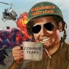 Meme Make - commies get out reee make america great again know your meme