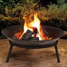 Firepit Bowl Bowl Barbecuing Outdoor Heating Ebay